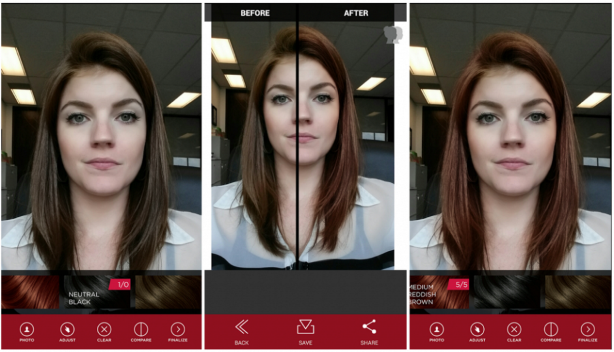 7 Best Virtual Hair Styler Apps For Android Protractor